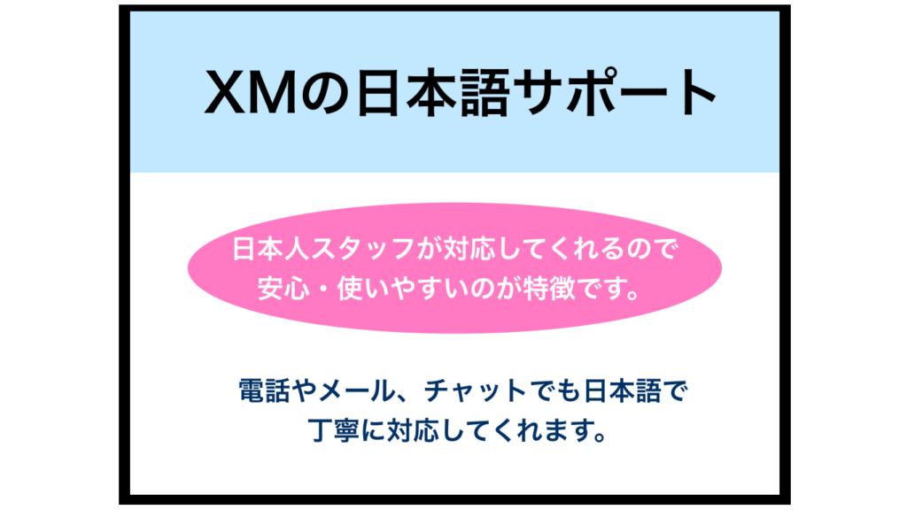 XMの日本語サポートの評判